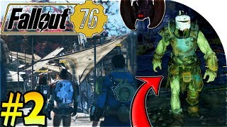 FALLOUT 76 GAMEPLAY PART 2 - Attacking LEGENDARY GRAHM + MOTHMAN Ritual + The OVERSEER