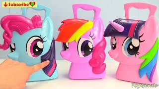 My Little Pony Twilight Sparkle, Rainbow Dash, Pinkie Pie Mix Up Mania