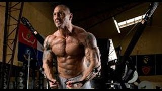 Exclusive Batista incredible UFC training and GYM workout 2014