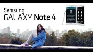 Samsung Galaxy Note 4: обзор смартфона