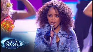 Top 7 Showstopper: Thando -  'Single Ladies' – Idols SA | Mzansi Magic
