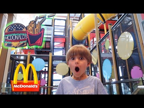 World s Best McDonald s Fun Toys Playground and Arcade Play ♥