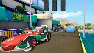 Champion Lightning Mcqueen Loses to Francesco Bernoulli Disney Pixar Cars Race Game for Children