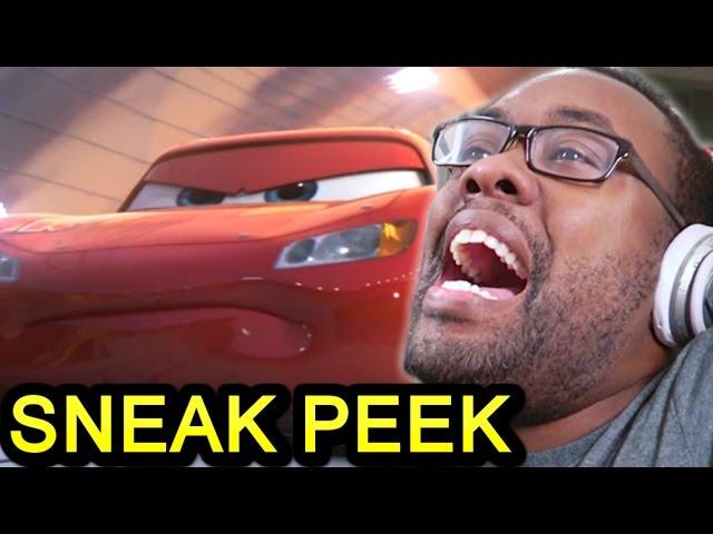 CARS 3 Extended Sneak Peek REACTION - Lightning McQueen LIVES?? #Cars3