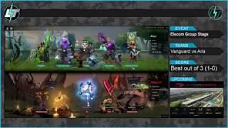 Vanguards vs Aria - Game 2 - مسابقات الکام و انتخابی تیم ملی - Dota 2