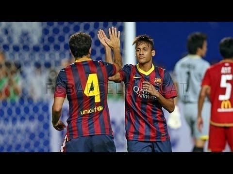 Xxx Mp4 Thailand Vs Barcelona 17 All Goals Amp Highlights 07082013 Neymar First Goal For Barcelona 3gp Sex