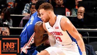 Philadelphia Sixers vs Detroit Pistons Full Game Highlights   10.23.2018, NBA Season