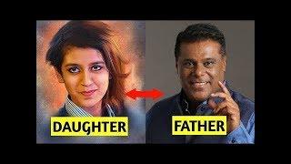 Bollywood daughters with their Fathers - Priya Prakash bollywood tv
