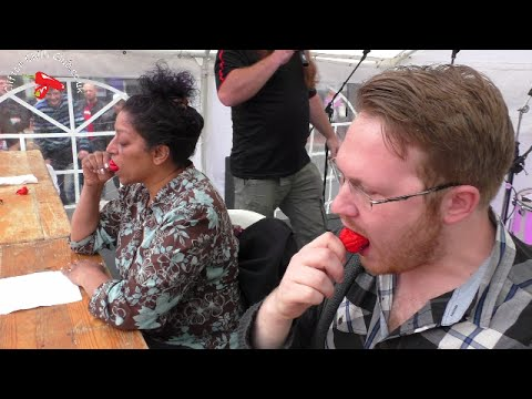 Chilli Eating Contest Reading Chili Festival 2016