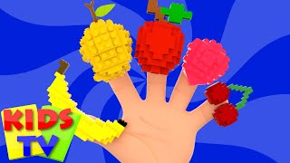 Fruits Finger Family | Learn Fruits | Lego Fruits| Nursery Rhymes | Kids Rhymes | Baby Songs