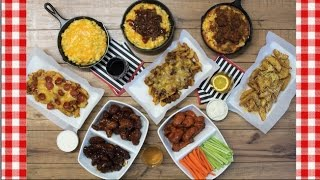 Burga Box Superbowl Sideline Spread Review ~ Special Offer ~ Noreen's Kitchen
