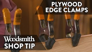 Woodworking Tip: Cheap Edge Clamps