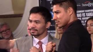 MANNY PACQUIAO-JESSIE VARGAS READY FOR WAR!!!