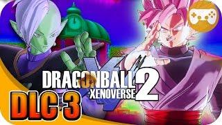 DRAGON BALL XENOVERSE 2 DLC 3 | EXPLORANDO NUEVAS COSAS EpsilonGamex