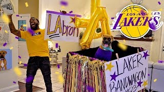 Officially Joining The Los Angeles Lakers Bandwagon With Lebron James!!