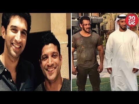 Mohit Denies Casting Aditya- Farhan In His Next | Salman Captured While Shooting An Action Scene