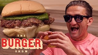 Casey Neistat Taste-Tests Limited-Edition Burgers from Shake Shack | The Burger Show