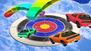 DARTING WITH CARS ON GTA 5! (GTA 5 DLC)