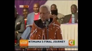 Lowassa calls on Maasais to fulfill Ole Ntimama