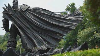 Arthas Menethil Statue - Taiwan - Taichung City