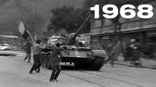 Okupace Československa 21. srpna 1968 - první hlášení