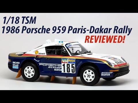 True Scale Models 1/18 1986 Porsche 959 Rally Car | Reviewed!