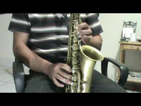Las Notas Musicales de Las Mañanitas INTRO 1a Sax Alto 2a