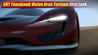 SRT Tomahawk Vision Gran Turismo First Look