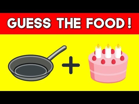 Can You Guess The Food By The Emoji?   Emoji Challenge   Emoji Puzzles!