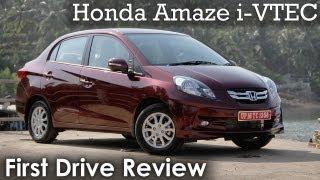Honda Amaze i-VTEC (petrol) Review