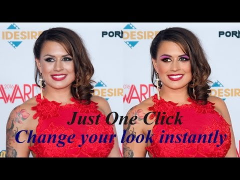 Just One Click Donald Trump or Eva Angelina free makeup for all FB, Instagram, Twitter