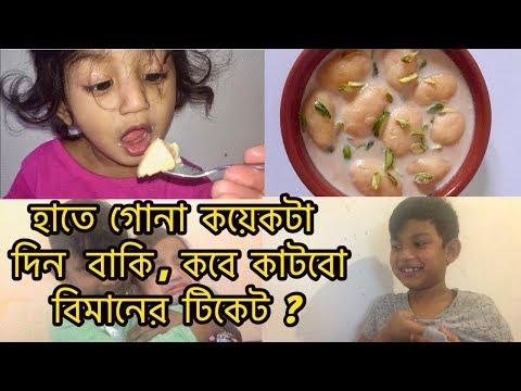 Xxx Mp4 হাতে গোনা কয়েকটা দিন বাকি কবে কাটছি বিমানের টিকেট বাংলাদেশি ব্লগ Bangladeshi Mom Vlog 3gp Sex