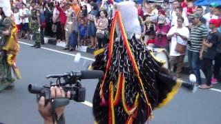 Drumband AAU Gita Dirgantara Menyusuri Malioboro 16 Juni 2016