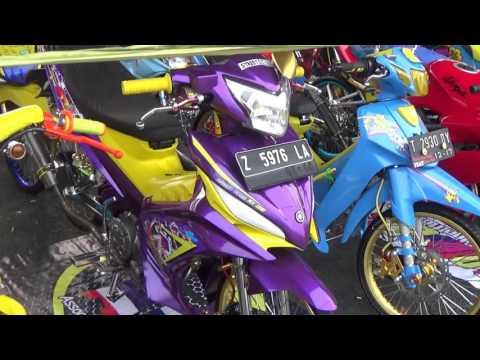 Gue pamerin Jupiter MX modfikasi Street Racing
