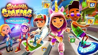 Subway Surfers  Singapore : Gameplay For Children | Videos For Kids