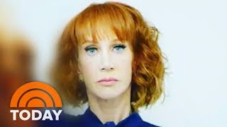 Kathy Griffin Fired By CNN As President Trump, Family Express Outrage About Photo | TODAY