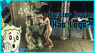 Fallout 4 | Procter Ingram has legs! | How to Remove Her Power Armor and Keep it [PC]