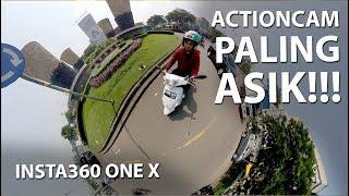 KAMERA AKSI 360° ASIK PARAH | Review Insta360 One X