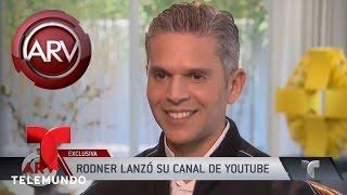 Rodner Figueroa anuncia cómo regresará a la televisión | Al Rojo Vivo | Telemundo
