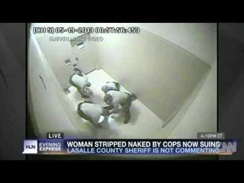 4 Cops Forcibly Strip Search Woman After DUI Arrest Disturbing Search for drunk driving