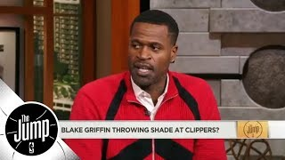 Stephen Jackson to Blake Griffin on Clippers