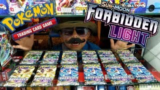 OPENING FORBIDDEN LIGHT BOOSTER PACKS EARLY!! Newest Pokemon Card Set!