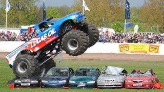 Truckfest Bigfoot Monster Truck Car Jump