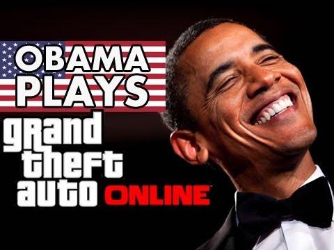 President Obama Plays GTA 5 Online