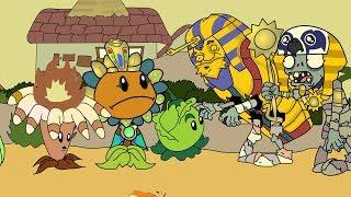 Plantas vs. zombies ANIMATION Ancient Egypt (Cartoon)