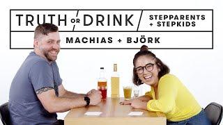 Stepparents & Stepkids Play Truth or Drink (Machias & Bjork)   Truth or Drink   Cut