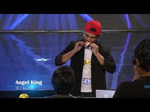 Angel King Magic Audition | Myanmar's Got Talent 2017 Season 4 ျမန္မာ