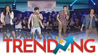 Tommy, Luis, Tanner and Albie set the ASAP stage on fire with their hot performance