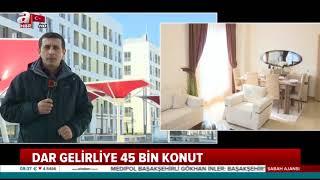 TOKİ dar gelirli için 346 lira taksitle ev