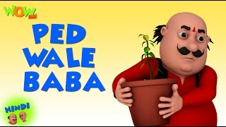 Ped Wale Baba - Motu Patlu in Hindi - 3D Animation Cartoon for Kids - As seen on Nickelodeon